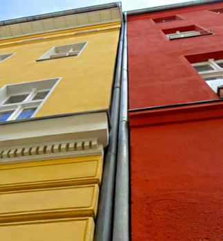 Vápenné fasádne farby