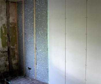 Zvuková izolácia stien v byte