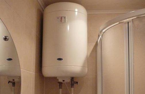 ohrievač vody elektrická prípojka