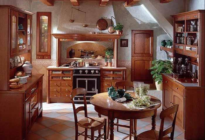 5551fc082116 Rustikálna kuchyňa