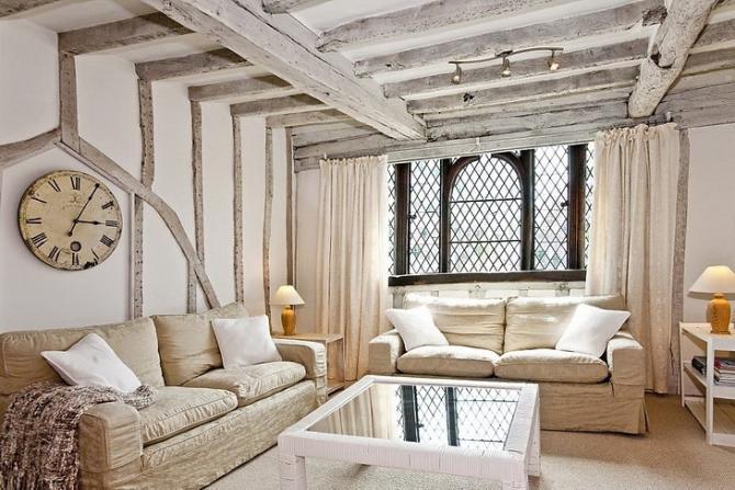 66156a3730701 Vidiecky štýl: možnosti dizajnu obývacej izby